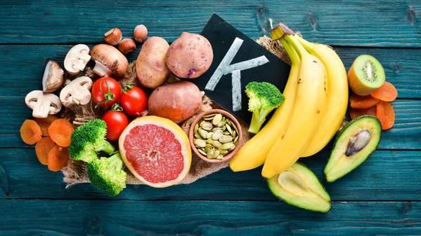 Lebensmittel mit Vitamin K