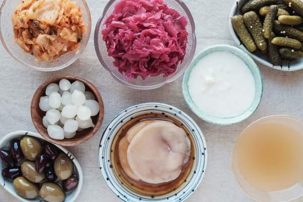 Fermentierte Lebensmittel mit probiotischen Bakterien