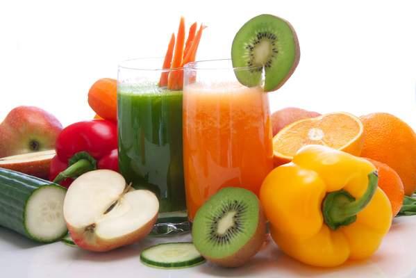 Obst- und Gemüsesaft
