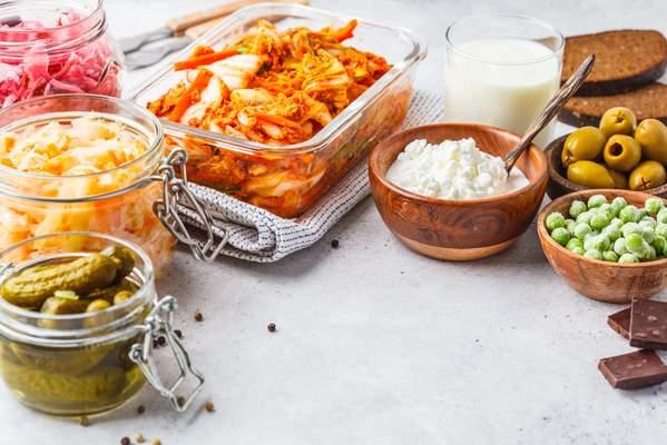 Probiotische Lebensmittel für einen gesunden Darm